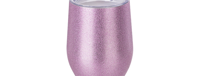Insulado  12 oz Glitter Rosa