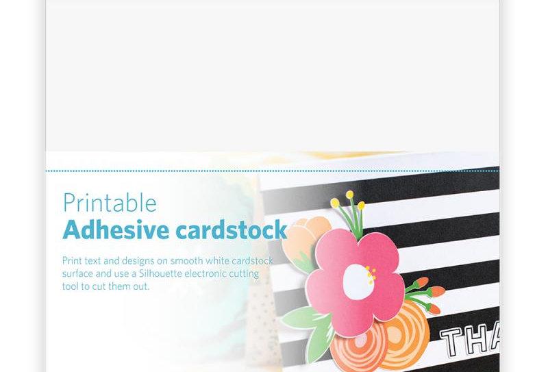 Hojas Adhesivas Cardstock