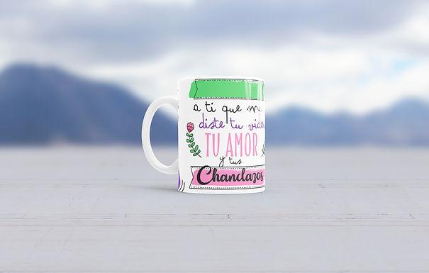 """Tazas Día de las Madres """"Chanclazos"""""""