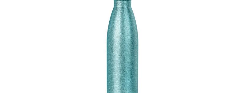 Botella Cola 17oz Glitter Verde