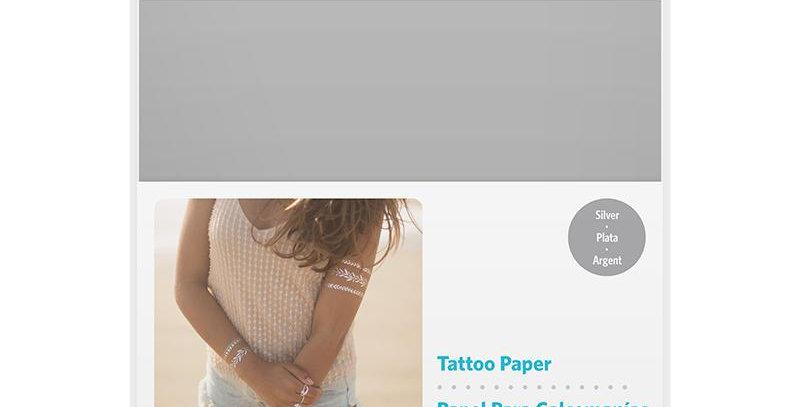 Papel Tatuajes Temporal Silvere