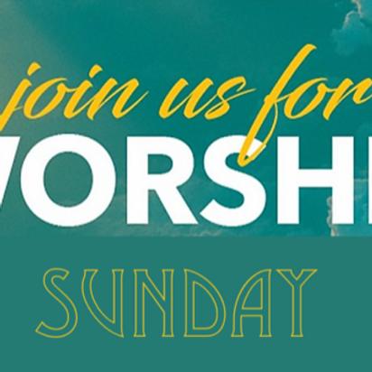 Sunday Worship on Zoom and YouTube