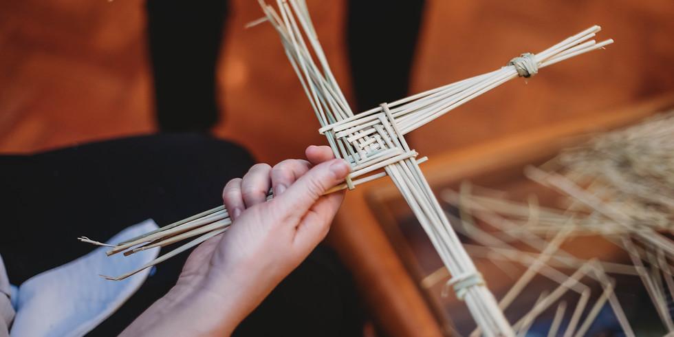 St. Brigids Cross Making Workshop with Deirdre Keohane
