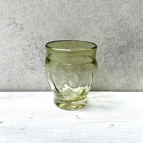 星耕硝子 丸モールグラス(小)緑