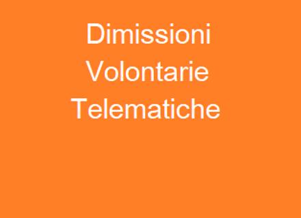 Dimissioni Volontarie Telematiche