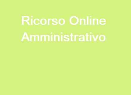 Ricorso Online Amministrativo