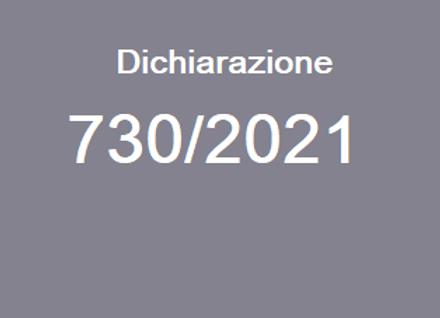 Dichiarazione 730/2021