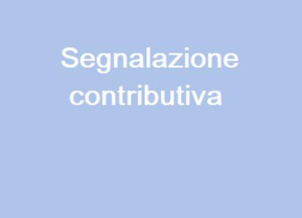 Segnalazione Contributiva