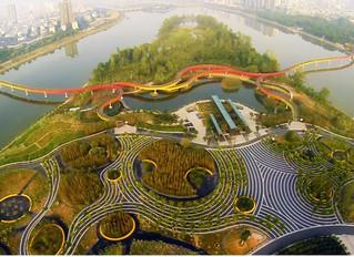 """""""Villes-éponges"""", digues flottantes... comment 4 grandes villes  se préparent à la montée des eaux"""