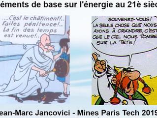 Résumé du cours des Mines de Jancovici