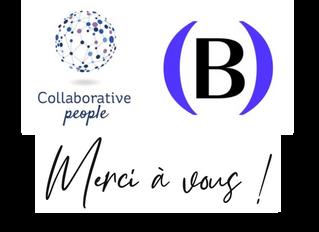 Collaborative People fête sa 100 000e page vue (et Plan(s) B son 1000e abonné)