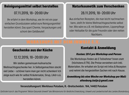 Workshops: Selber machen statt kaufen!