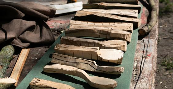 Holzlöffel Schnitzen