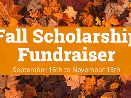 Fall Scholarship Fundraiser