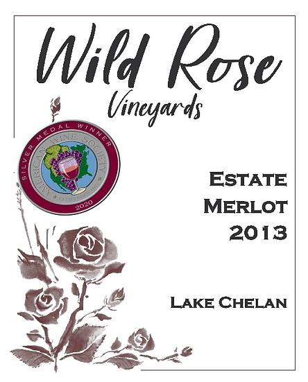2013 Estate Merlot - Wine Club