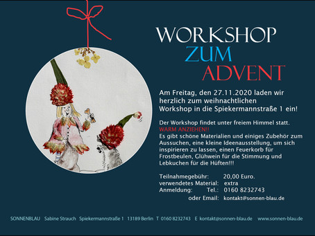 Workshop zum Advent!