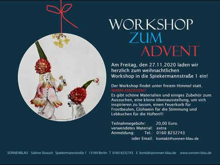 Workshop zum Advent!