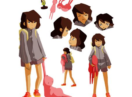 Short film update #2- Character designs.