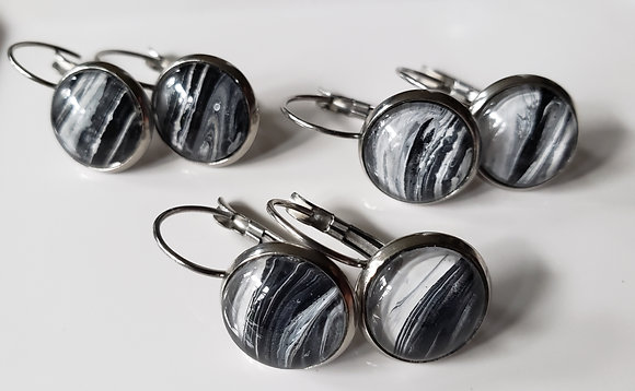 French Lever Back Earrings