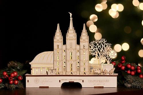 Tabernacle Choir White Small Schwibbogen