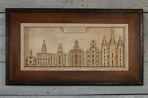 Pioneer Temple Series Framed