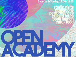 Open Academy at Trondheim Academy of Fine Art