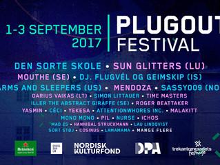 VJ lamamama på PLUGOUT festival