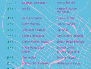 Podcast om utstillingen min i Aarhus Artspace