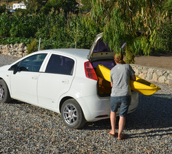 Snap Kayaks Fit Easily Into Your Car