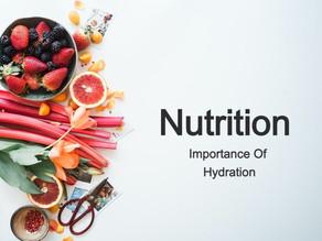 Understanding Hydration