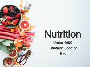 Under 1000 Calorie Diet: Good Or Bad