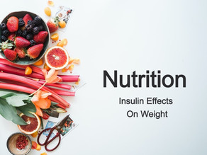 Insulin And Weight Loss