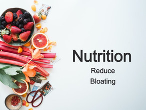 Reducing Bloating