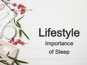 Importance of Sleep.