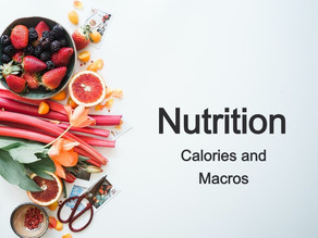 Calories and Macronutrients