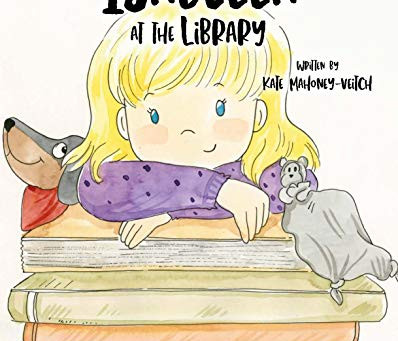 Isabella at the Library by Kate Mahoney-Veitch