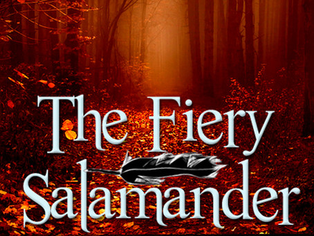 The Fiery Salamander by Will Robinson