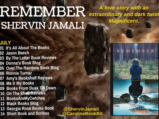 Blog Tour: Remember – Shervin Jamali