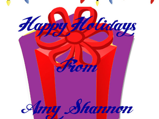 Happy Holidays from Amy Shannon