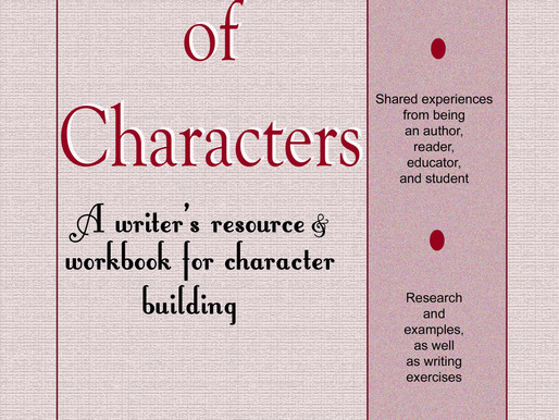 """Win a paperback copy of """"Depths of Characters: A writer's resource & workbook for character"""
