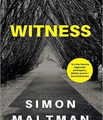 Blog Tour: Witness By Simon Maltman