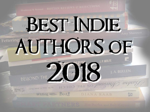 Top 10 Indie Authors of 2018