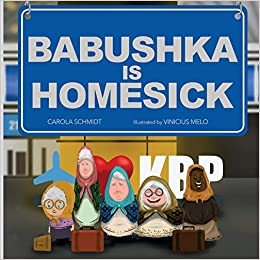 Blog Tour: Carola Schmidt's Babushka is Homesick
