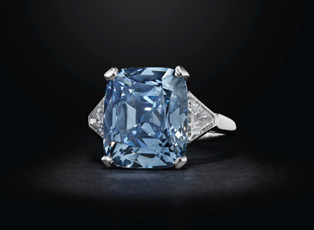 The Holy Grail Of Diamonds - The Blue Diamond - SOLD