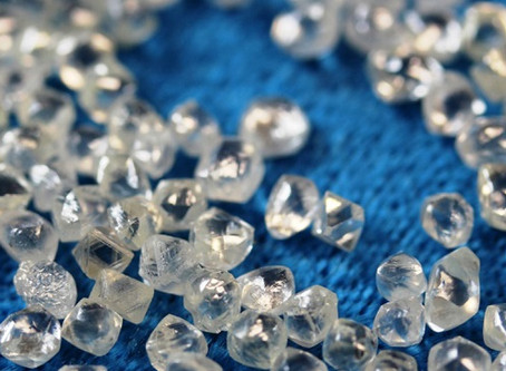 "THE NATURAL DIAMOND INDUSTRY SAYS ""NO"" TO SYNTHETICS"