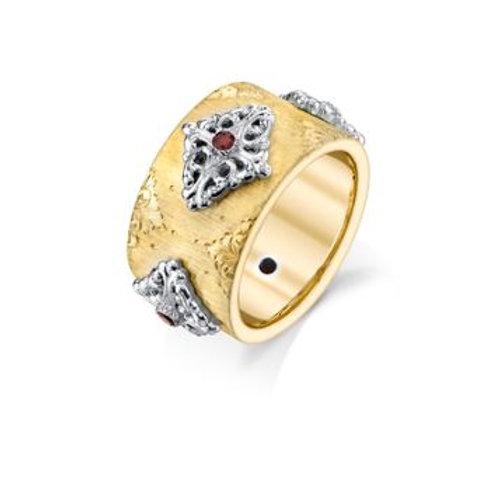 Ruby Flora Ring