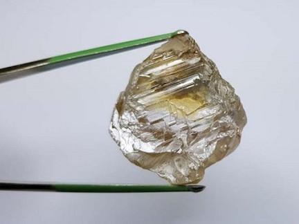 Lucapa Unearths 130ct. Rough Stone