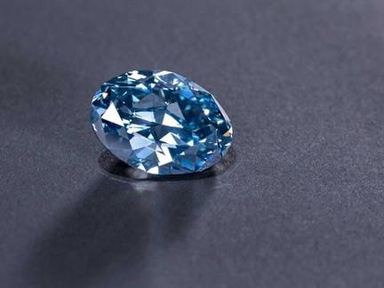 Botswana Unveils 20ct. Okavango Blue Diamond