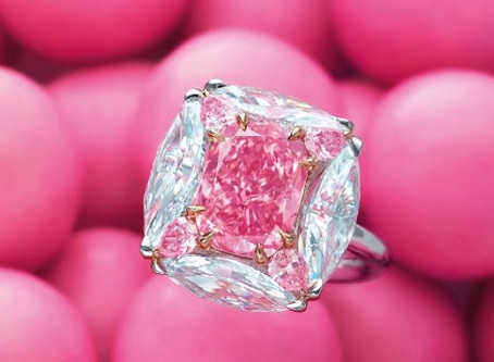 $6M 'Bubble Gum' Ring to Lead Christie's Hong Kong