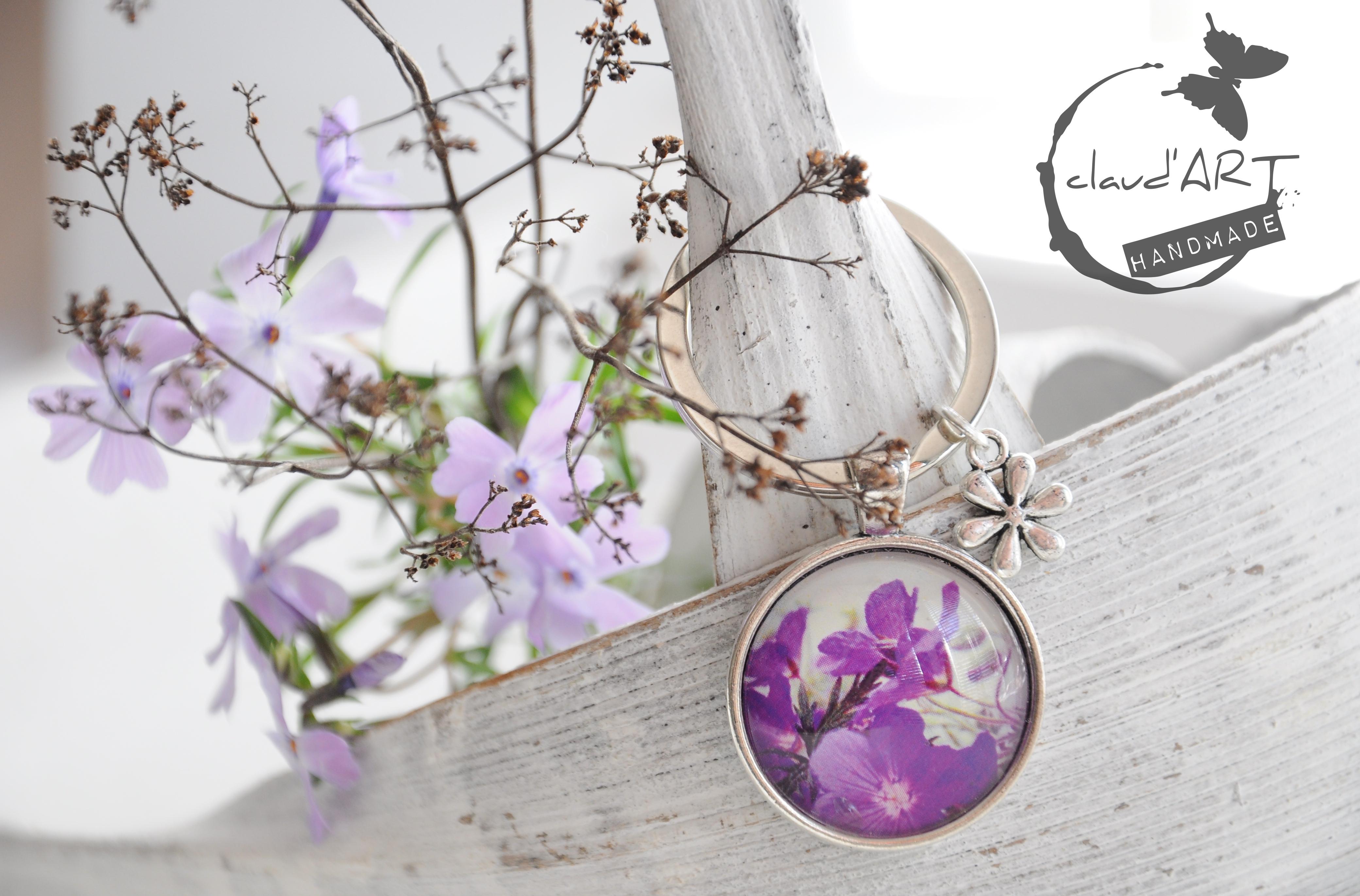 Blütenzauber Schlüsselanhänger